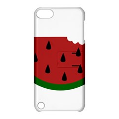Food Slice Fruit Bitten Watermelon Apple iPod Touch 5 Hardshell Case with Stand