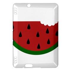 Food Slice Fruit Bitten Watermelon Kindle Fire HDX Hardshell Case