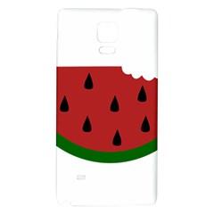 Food Slice Fruit Bitten Watermelon Galaxy Note 4 Back Case
