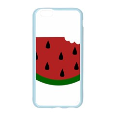 Food Slice Fruit Bitten Watermelon Apple Seamless iPhone 6/6S Case (Color)