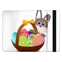 Easter Bunny Eggs Nest Basket Samsung Galaxy Tab Pro 12.2  Flip Case