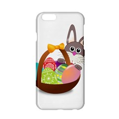 Easter Bunny Eggs Nest Basket Apple iPhone 6/6S Hardshell Case