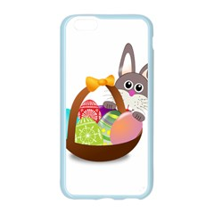 Easter Bunny Eggs Nest Basket Apple Seamless iPhone 6/6S Case (Color)