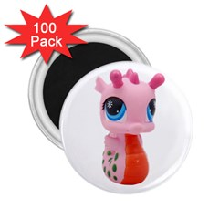 Dragon Toy Pink Plaything Creature 2.25  Magnets (100 pack)