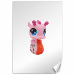 Dragon Toy Pink Plaything Creature Canvas 12  x 18