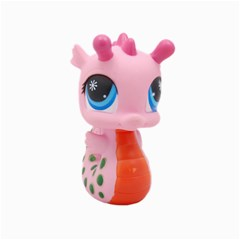 Dragon Toy Pink Plaything Creature Canvas 20  x 20
