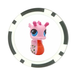 Dragon Toy Pink Plaything Creature Poker Chip Card Guard