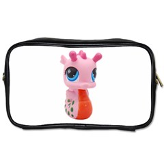 Dragon Toy Pink Plaything Creature Toiletries Bags 2-Side
