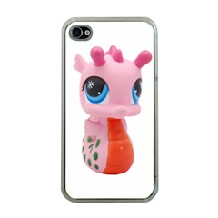 Dragon Toy Pink Plaything Creature Apple iPhone 4 Case (Clear)