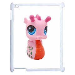 Dragon Toy Pink Plaything Creature Apple iPad 2 Case (White)