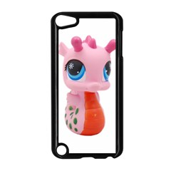 Dragon Toy Pink Plaything Creature Apple iPod Touch 5 Case (Black)