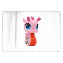 Dragon Toy Pink Plaything Creature Samsung Galaxy Tab 10.1  P7500 Flip Case