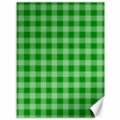 Gingham Background Fabric Texture Canvas 36  x 48
