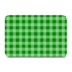 Gingham Background Fabric Texture Plate Mats