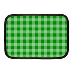 Gingham Background Fabric Texture Netbook Case (Medium)
