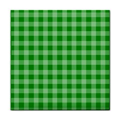 Gingham Background Fabric Texture Face Towel