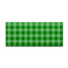 Gingham Background Fabric Texture Cosmetic Storage Cases