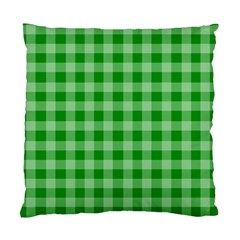 Gingham Background Fabric Texture Standard Cushion Case (Two Sides)