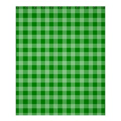 Gingham Background Fabric Texture Shower Curtain 60  x 72  (Medium)