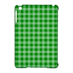 Gingham Background Fabric Texture Apple iPad Mini Hardshell Case (Compatible with Smart Cover)