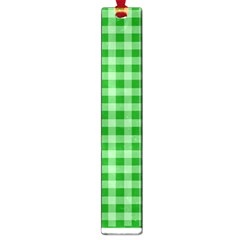 Gingham Background Fabric Texture Large Book Marks