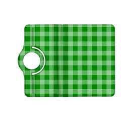 Gingham Background Fabric Texture Kindle Fire HD (2013) Flip 360 Case