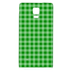 Gingham Background Fabric Texture Galaxy Note 4 Back Case