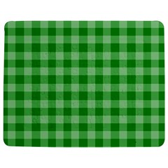 Gingham Background Fabric Texture Jigsaw Puzzle Photo Stand (Rectangular)