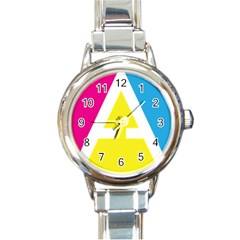 Graphic Design Web Design Round Italian Charm Watch