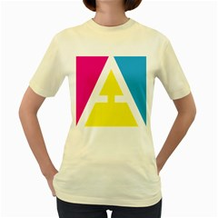 Graphic Design Web Design Women s Yellow T-Shirt