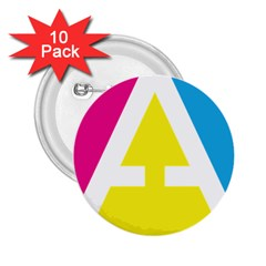 Graphic Design Web Design 2.25  Buttons (10 pack)