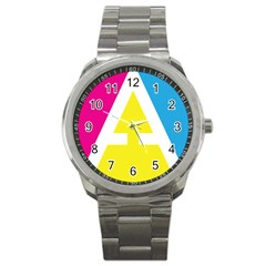Graphic Design Web Design Sport Metal Watch