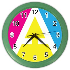 Graphic Design Web Design Color Wall Clocks