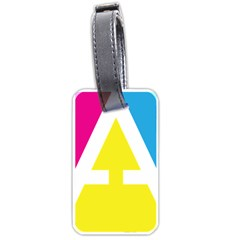 Graphic Design Web Design Luggage Tags (One Side)