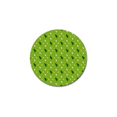 Green Christmas Tree Background Golf Ball Marker (10 pack)