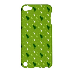 Green Christmas Tree Background Apple iPod Touch 5 Hardshell Case
