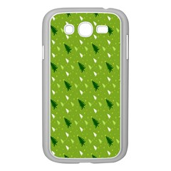 Green Christmas Tree Background Samsung Galaxy Grand DUOS I9082 Case (White)