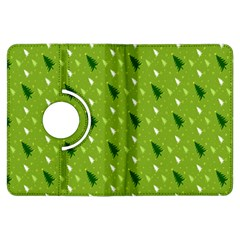 Green Christmas Tree Background Kindle Fire HDX Flip 360 Case
