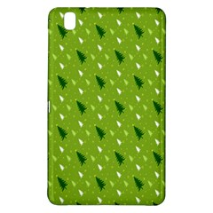 Green Christmas Tree Background Samsung Galaxy Tab Pro 8.4 Hardshell Case