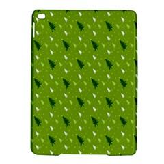 Green Christmas Tree Background iPad Air 2 Hardshell Cases