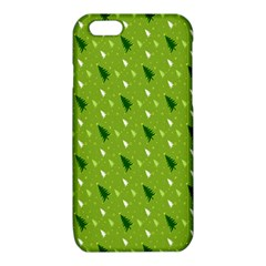 Green Christmas Tree Background iPhone 6/6S TPU Case