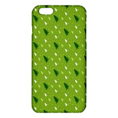 Green Christmas Tree Background iPhone 6 Plus/6S Plus TPU Case