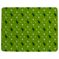 Green Christmas Tree Background Jigsaw Puzzle Photo Stand (Rectangular)