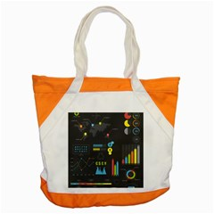 Graphic Table Symbol Vector Chart Accent Tote Bag