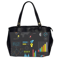 Graphic Table Symbol Vector Chart Office Handbags (2 Sides)
