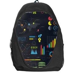 Graphic Table Symbol Vector Chart Backpack Bag