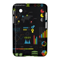 Graphic Table Symbol Vector Chart Samsung Galaxy Tab 2 (7 ) P3100 Hardshell Case