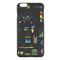 Graphic Table Symbol Vector Chart Apple iPhone 6 Plus/6S Plus Black Enamel Case