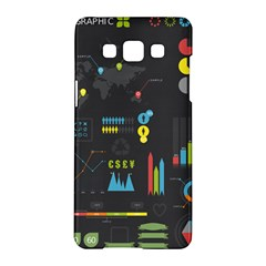 Graphic Table Symbol Vector Chart Samsung Galaxy A5 Hardshell Case