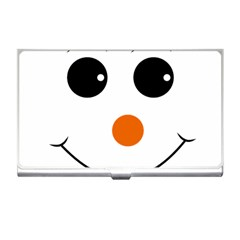 Happy Face With Orange Nose Vector File Business Card Holders